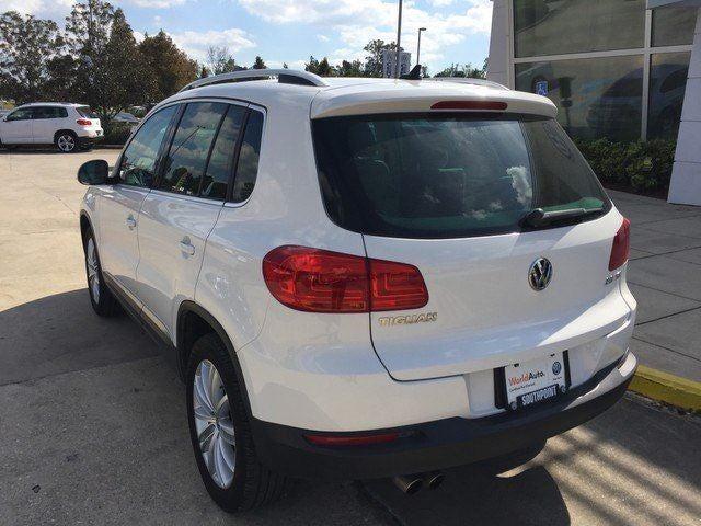 2014 Volkswagen Tiguan Se Baton Rouge La Area Volkswagen